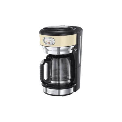 Russell Hobbs Kaffebryggare Retro vintage naturvit 1000 W 1,25 L