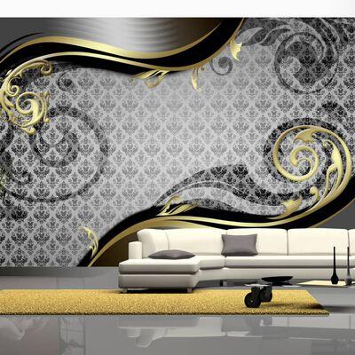 Fototapet - Golden Snail - 100x70 Cm,