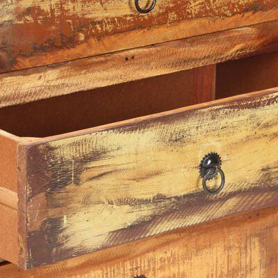 vidaXL Skänk 60x35x75 cm massivt återvunnet trä
