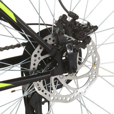 vidaXL Mountainbike 21 växlar 27,5 tums däck 38 cm svart