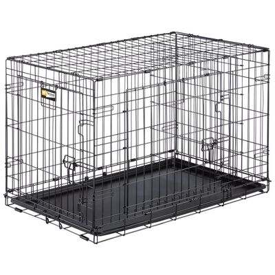 Ferplast Hundbur Dog-Inn 90 92,7x58,1x62,5 cm grå