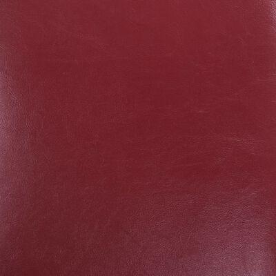 vidaXL Matstolar 2 st vinröd konstläder, Vinröd