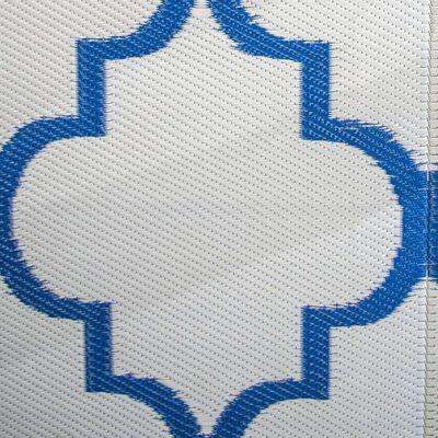 Bo-Camp Utomhusmatta Chill mat Casablanca 2x1,8 m blå