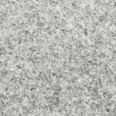vidaXL Konstgräs med halkskydd 2x1 m grå
