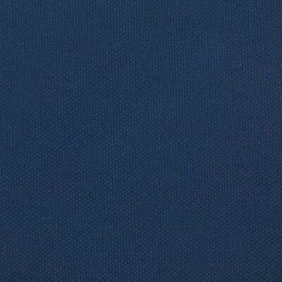 vidaXL Solsegel oxfordtyg trekantigt 3,6x3,6x3,6 m blå