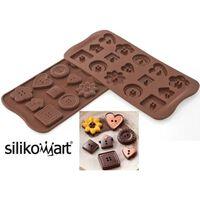Silikomart Easy Choc Pralinform
