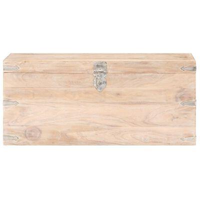 vidaXL Kista 90x40x40 cm massivt akaciaträ