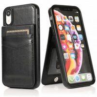 Iphone Xr Mobilskal Korthållare 5-fack Retro® V3