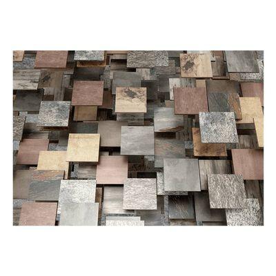 Fototapet - Square Structure - 250x175 Cm