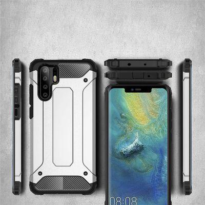 Hybrid Rugged Armor Skal till Xiaomi Mi Note 10 - Black