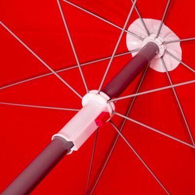 Bo-Camp Parasoll 165 cm röd
