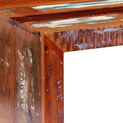 vidaXL Soffbord återvunnet trä
