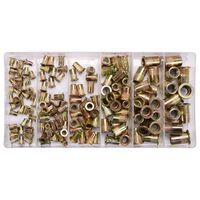 YATO Nitmuttersats 150 delar kolstol M3-M10
