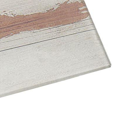 vidaXL Magnetisk glastavla väggmonterad 50x30 cm