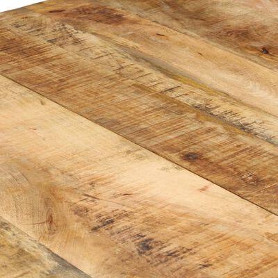 vidaXL Matbord 220x100x76 cm grovt mangoträ