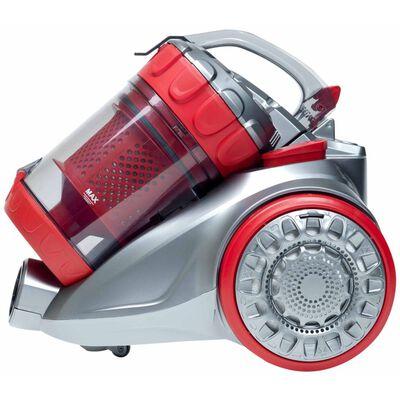 Bestron Påslös dammsugare Ecozenzo Plus röd och silver ABL930SR