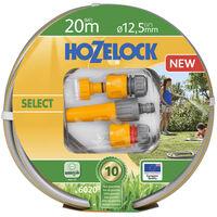 Hozelock Vattenslang Select 20 m med startpaket
