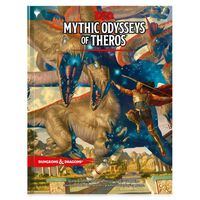 Dungeons & Dragons RPG Book - Mythic Odysseys of Theros
