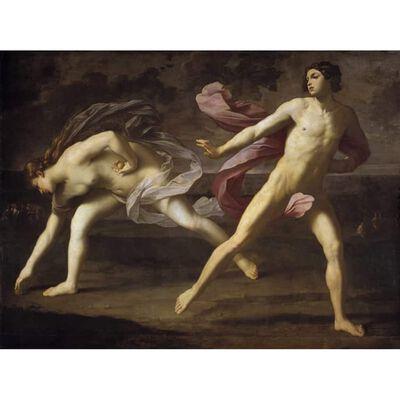Atalanta and Hippomenes,Guido Reni,50x40cm