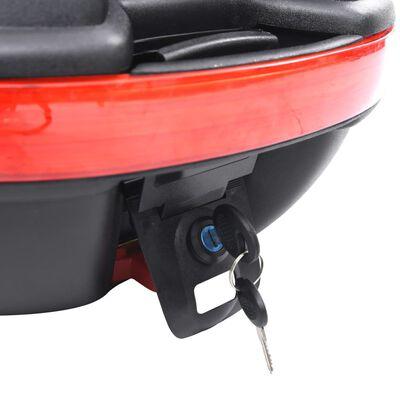 vidaXL Toppbox för motorcykel 1 MC-hjälm 26 L