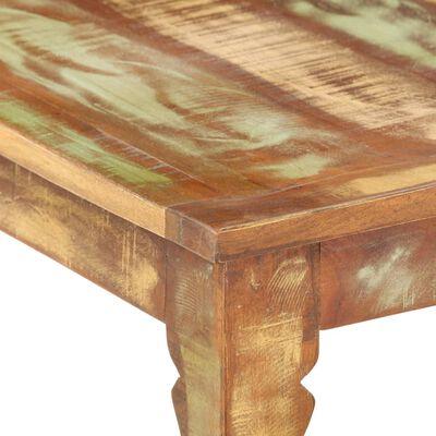 vidaXL Soffbord 110x50x40 återvunnet trä,