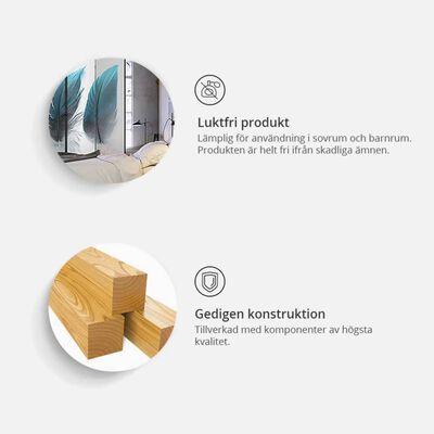 Rumsavdelare -  Geometric Glare   - 135x172 Cm