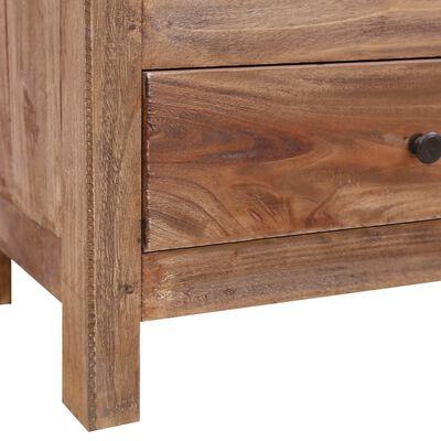 vidaXL TV-bänk 102x35x50 cm massivt återvunnet trä