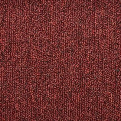 vidaXL Trappstegsmattor 15 st röd 56x17x3 cm
