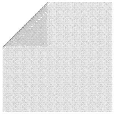 vidaXL Värmeduk för pool PE 600x400 cm grå