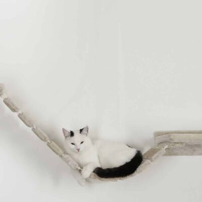 Kerbl Klättervägg för katter Mount Everest trä beige