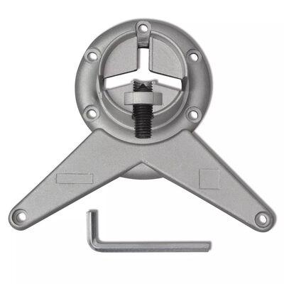 4 Justerbara bordsben i krom 870 mm