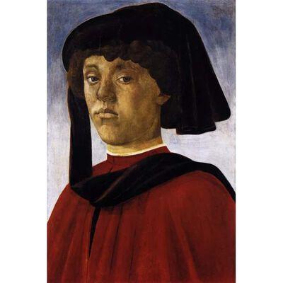 Adoration of the Magi,Sandro Botticelli,60x40cm ny02