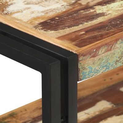vidaXL Avlastningsbord 90x30x75 cm massivt återvunnet trä,
