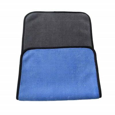 Dubbelsidig mikrofiberhandduk 3-pack - Blå