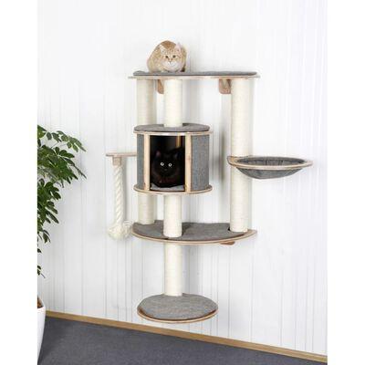 Kerbl Vägghängt klösträd Dolomit Tofana Pro grå 117 cm 81542
