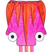 Dragon Fly Drake bläckfisk 124x127cm rosa och orange