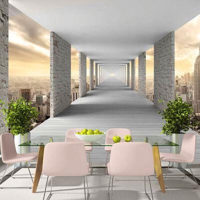 Fototapet - Skyward Corridor - 100x70 Cm