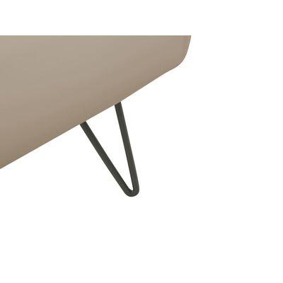 Dubbelsäng 180 x 200 cm konstläder beige BETIN,