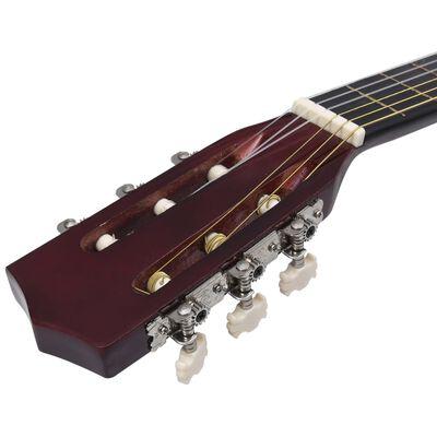 """vidaXL Gitarr för barn 8 delar klassisk 3/4 36"""""""