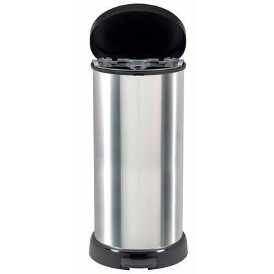 Curver Deco Pedalhink 40 L silver 240637,