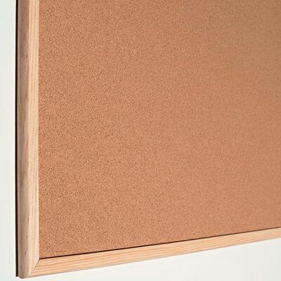 Esselte Standard anslagstavla kork 80x60cm