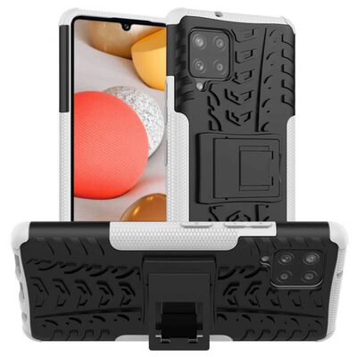 Stöttåligt Skal Med Ställ Samsung Galaxy A42-rosa