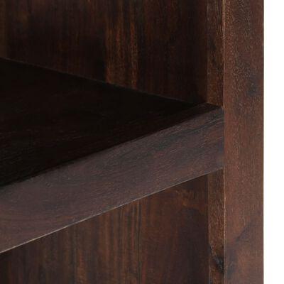 vidaXL Avlastningshylla massivt akaciaträ 40x30x110 cm