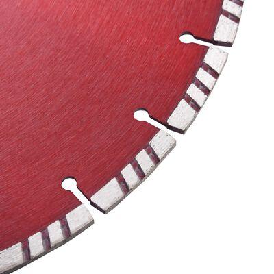 vidaXL Diamantklinga med Turbo Steel 350 mm