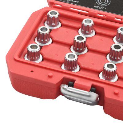 vidaXL Hjulmuttersats 12 delar till VW