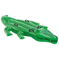 Intex Uppblåsbar krokodil 203x114 cm