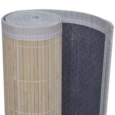 Fyrkantig Naturlig Bambumatta 150 x 200 cm