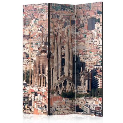 Rumsavdelare - Heart Of Barcelona   - 135x172 Cm