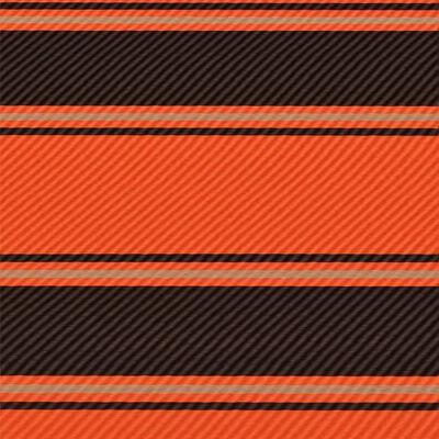 vidaXL Markis med LED 350x150 cm orange och brun