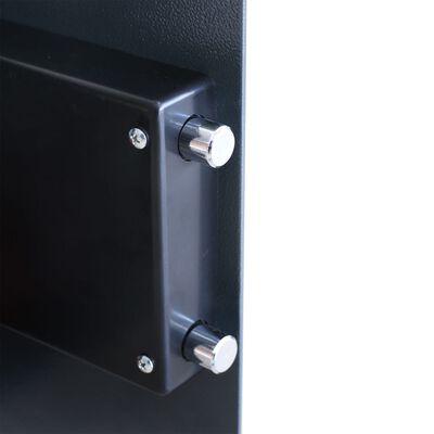 vidaXL Elektroniskt kassaskåp med hylla 35x31x50 cm